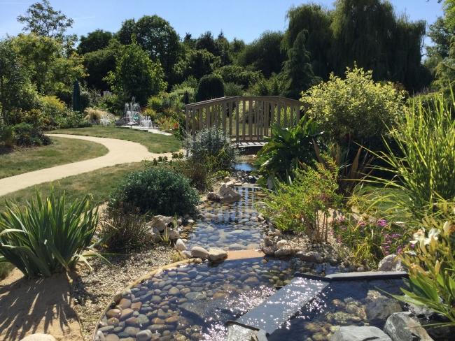 Ruisseau de jardin