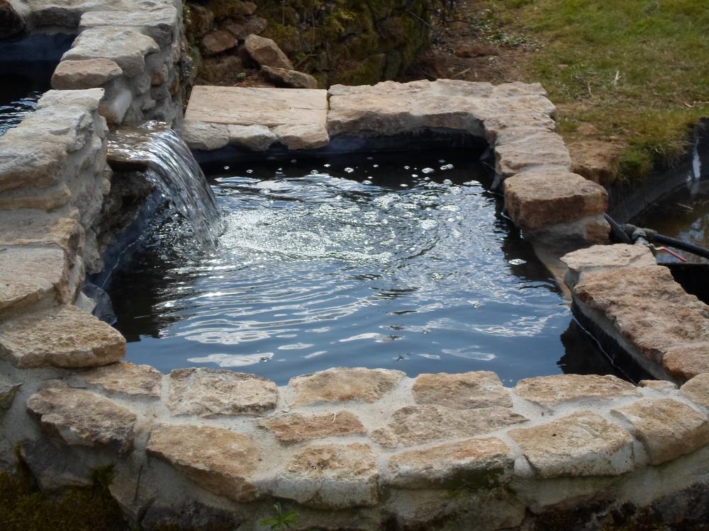 bassin rectangulaire avec lame d 39 eau 967 litres bassins. Black Bedroom Furniture Sets. Home Design Ideas