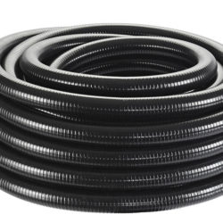 Tuyau spiralé noir 1 1:2, 25 m2