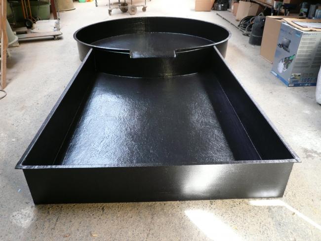 Bassin sur mesure service bassin aquatique en polyester for Coque bassin poisson