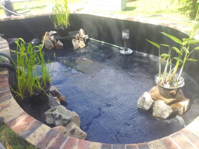 Réparation polyester bassin en ciment fissuré - service bassin ...